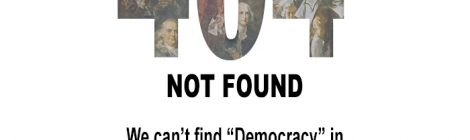 404 - democracy not found