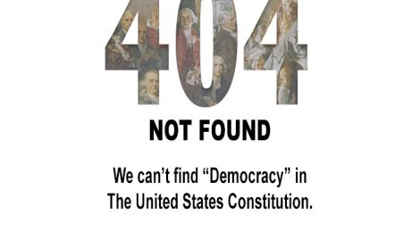 404 - democracy not found