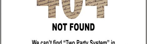 404 - two party system not found